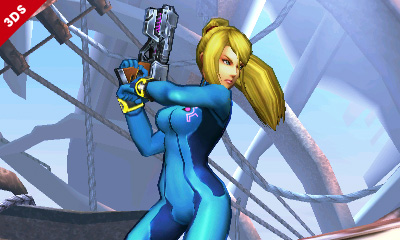 smash 3ds samus