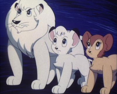 Der Löwenkönig - Boubou, König der Tiere © Tezuka Productions