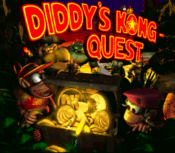 DONKEY KONG COUNTRY 2-DIDDY'S KONG QUEST