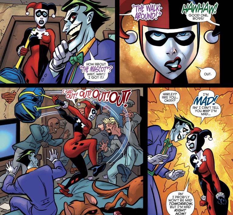 Harley Quinn: Harley liebt den Joker