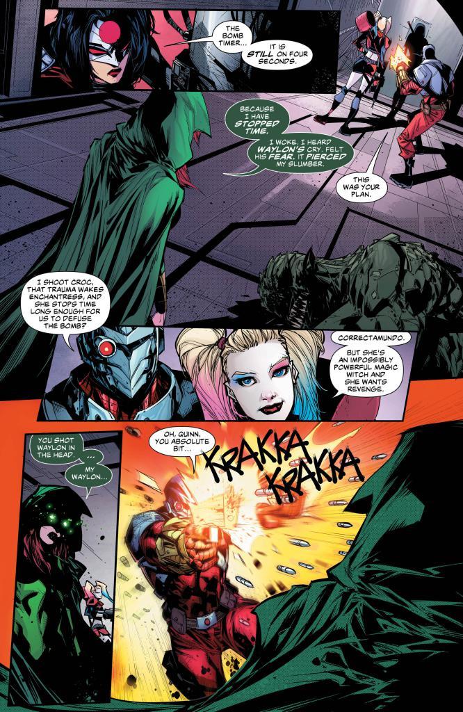 Suicide Squad 3 - Der Zorn des Dunklen Ritters