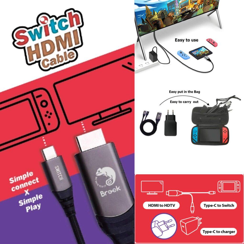 Brook Nintendo Switch HDMI Kabel