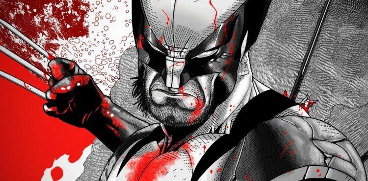 Wolverine: Schwarz, Weiß & Blut